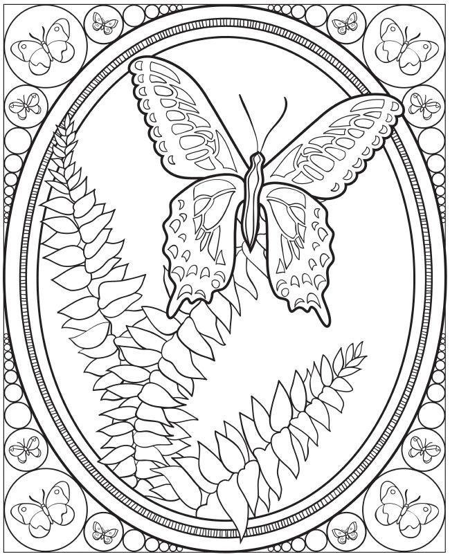 650x808 Welcome To Dover Publications Coloring Pages Dover
