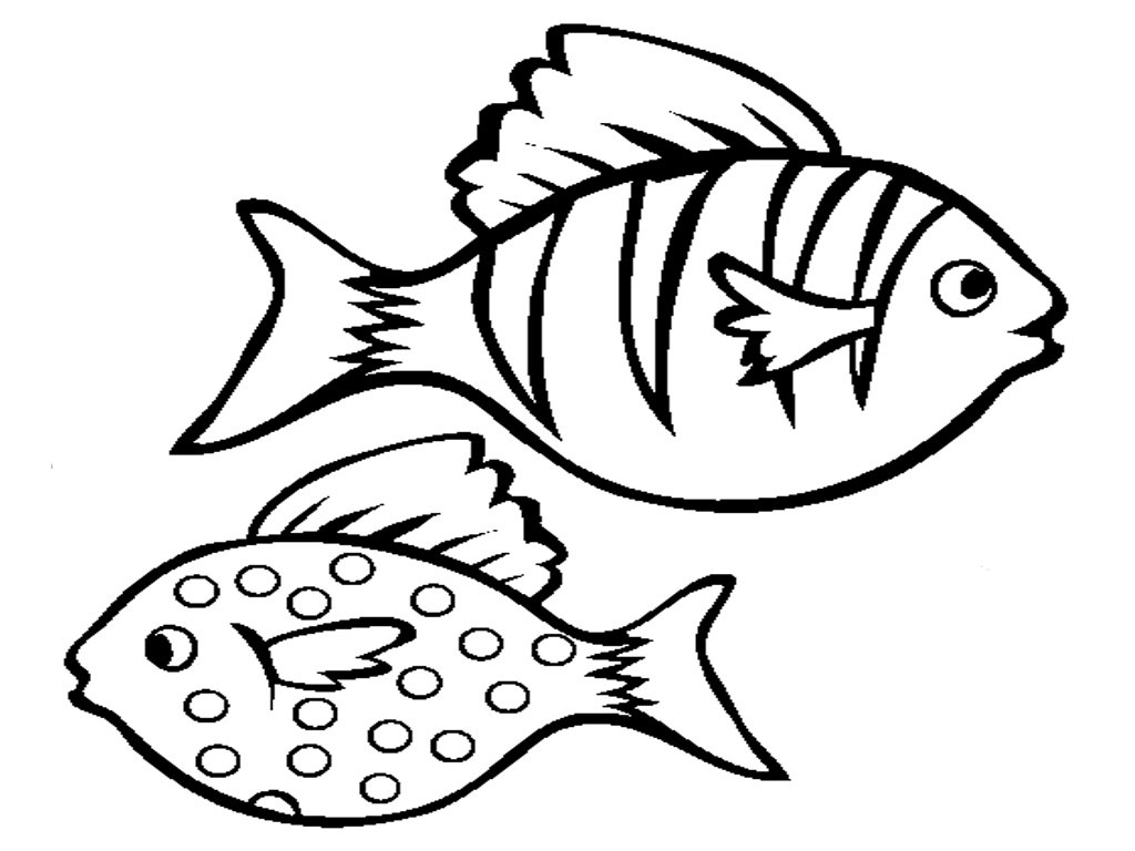 1024x768 Free Printable Fish Coloring Pages For Kids Printable Fish