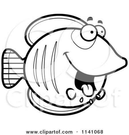 450x470 Butterfly Fish Coloring Pages
