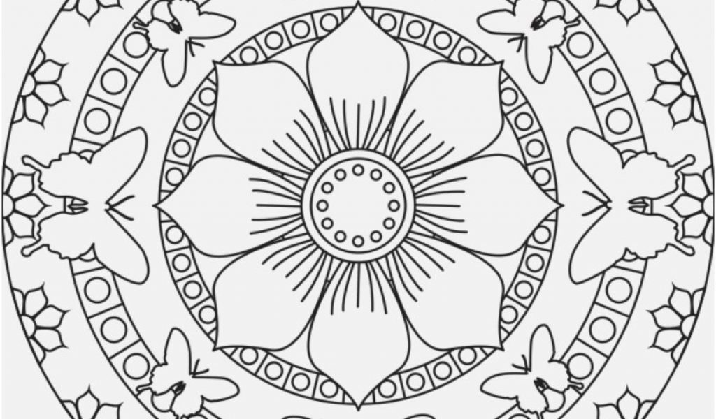 1024x600 Mandalas Coloring Pages Pics Butterfly Mandala Coloring Pages