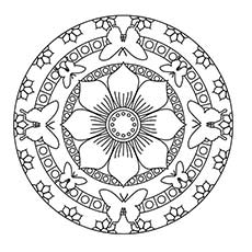 230x230 Top Mandala Coloring Pages For Your Little Ones