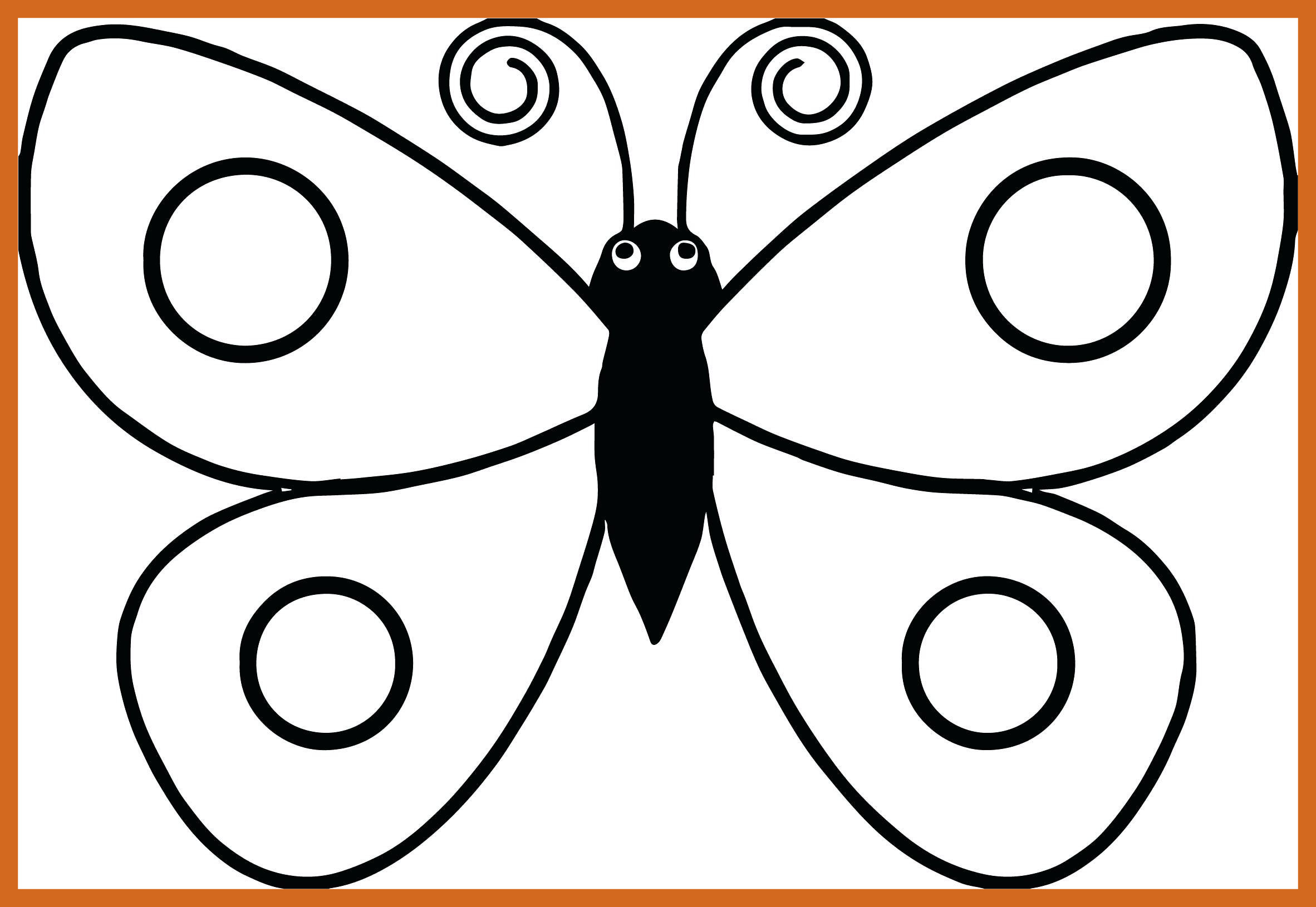 2364x1630 Amazing Butterfly Coloring Pages Tattoo And Stenciling Of Wings
