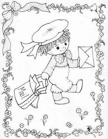 Button Coloring Pages