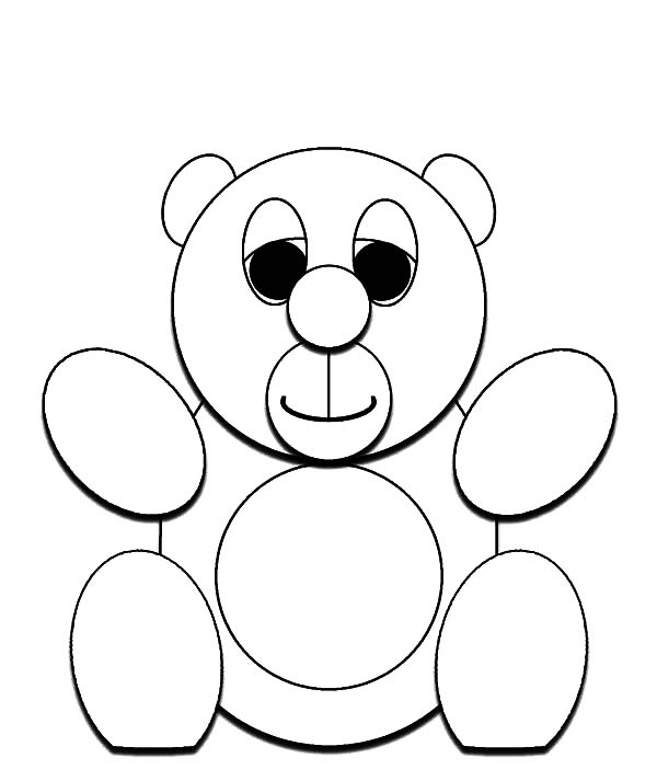600x713 Corduroy Bear Is Looking For Button Coloring Pages Batch Coloring