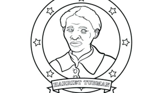 580x326 Harriet Tubman Coloring Pages Printable As Well As Print This