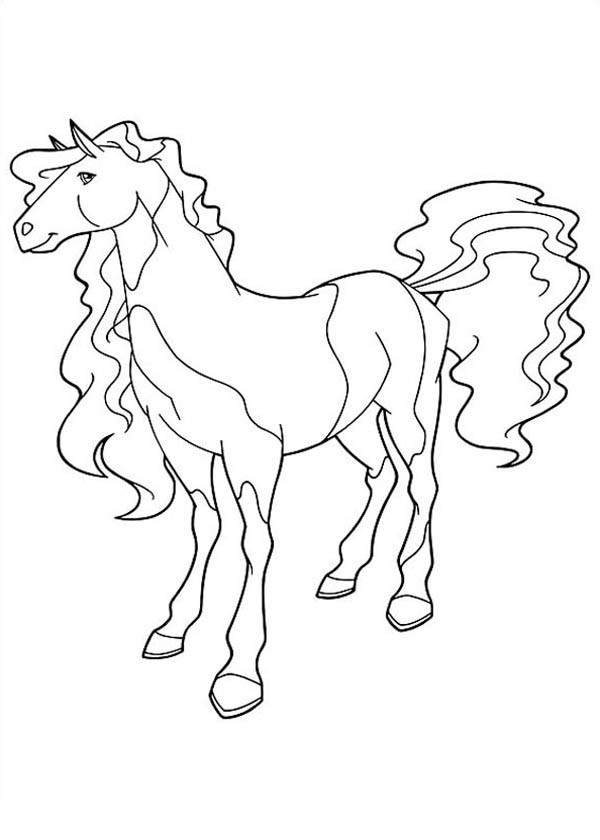 600x840 Horseland Coloring Pages