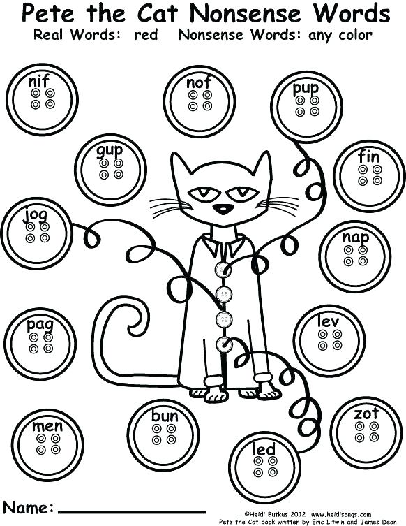 582x753 Pete The Cat Coloring Page Together With The Cat White Shoes