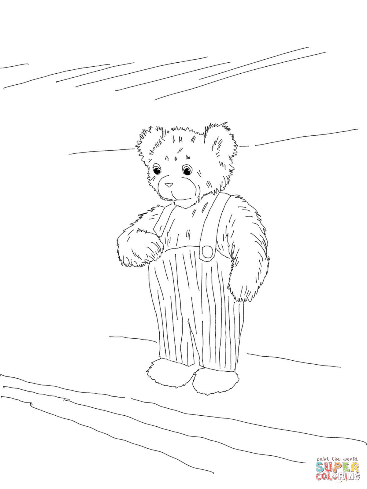 1200x1600 Corduroy Bear Coloring Page Free Printable Coloring Pages Corduroy