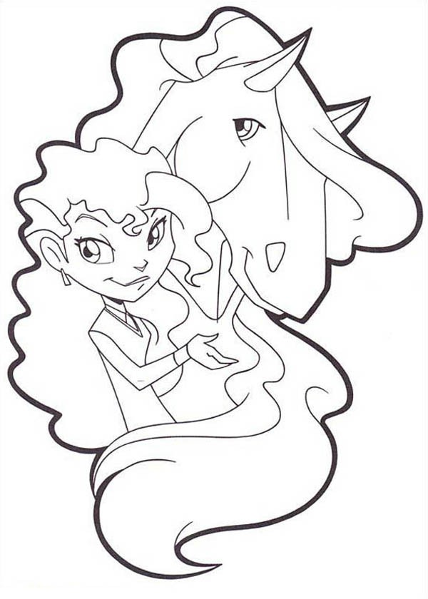 600x840 Button And Alma From Horseland Coloring Pages Batch Coloring