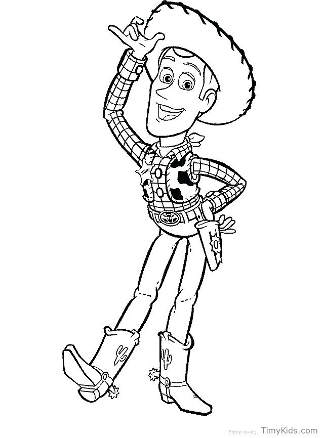 638x866 Woody Coloring Page Woody Coloring Pages Buzz Woody Colouring