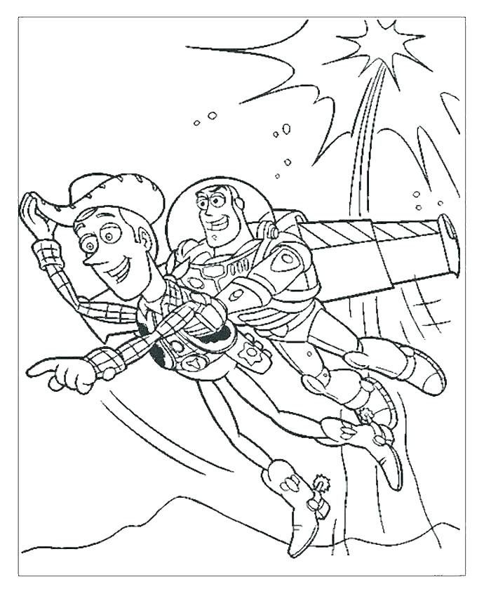 690x856 Flying Buzz Coloring Page Free Printable Coloring Pages Flying