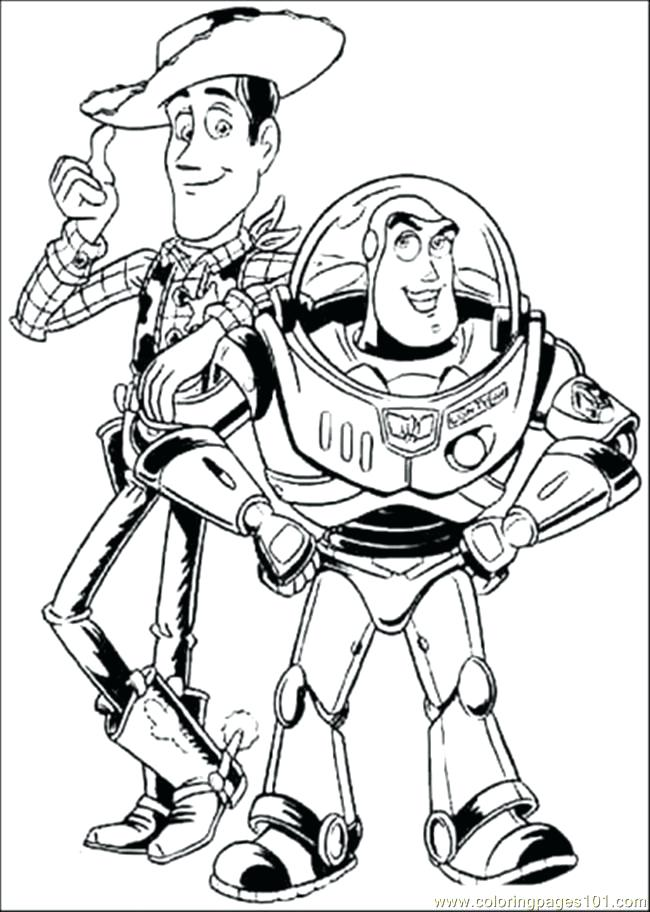 650x912 Buzz Woody Coloring Pages Last Updated Buzz Lightyear