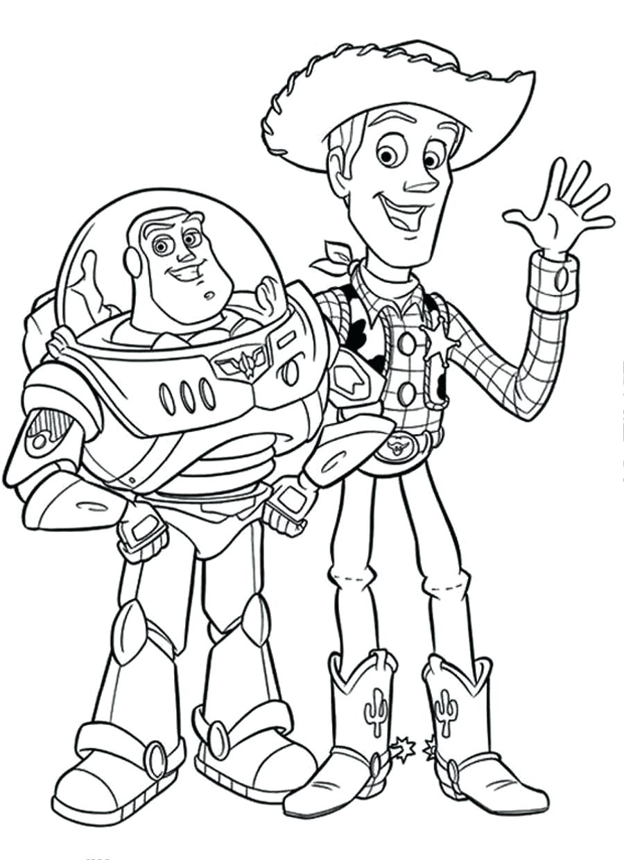900x1240 Toy Story Movie Coloring Pages New Woody Throughout