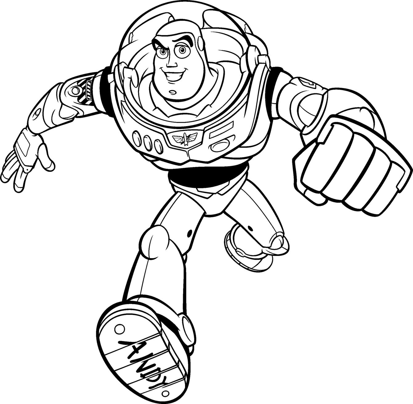 Buzz Lightyear Coloring Pages