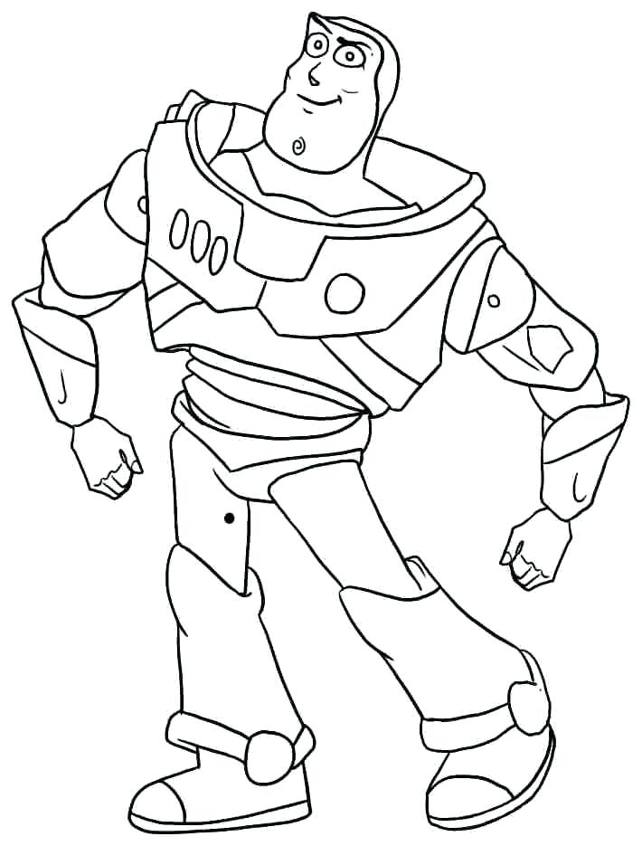 710x935 Buzz Lightyear Coloring Pages Buzz