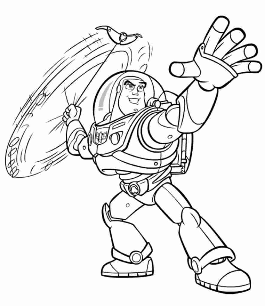 886x1024 Free Printable Buzz Lightyear Coloring Pages For Corbo Cool