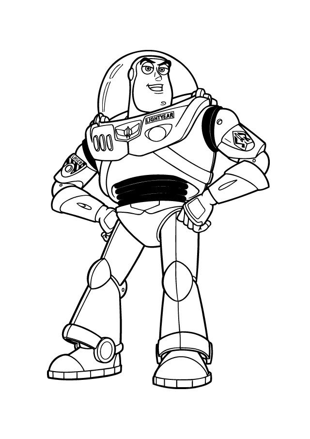 640x906 Free Printable Buzz Lightyear Coloring Pages For Kids