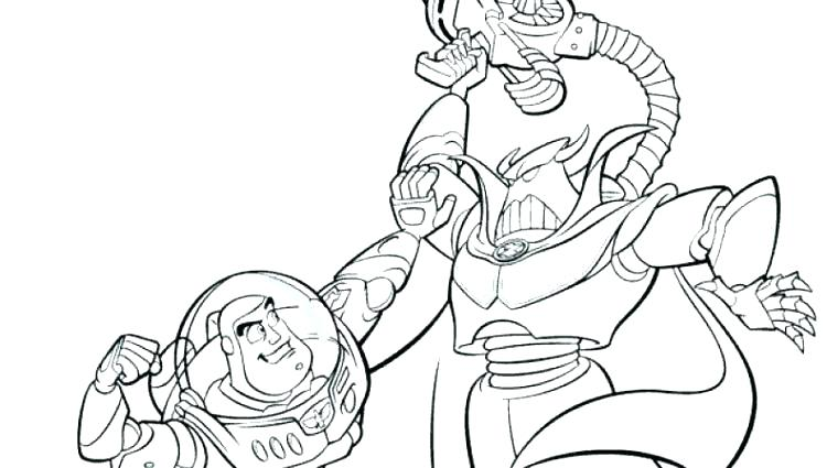 750x425 Unique Buzz Coloring Pages And Toy Story Woody Coloring Best