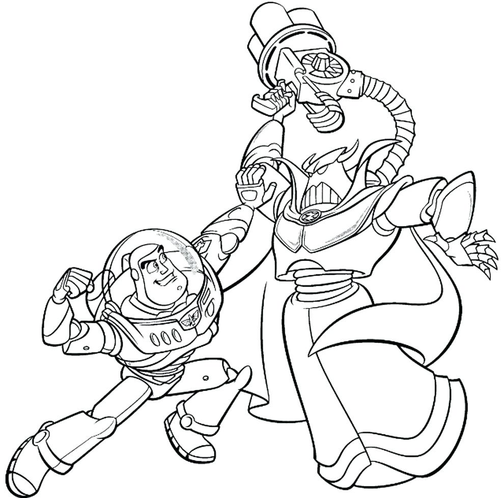 990x978 Coloring Pages Buzz Lightyear Coloring Pages Disney Buzz