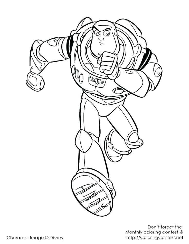 736x952 Buzz Lightyear Coloring Page Coloring Pages Toy Story Coloring