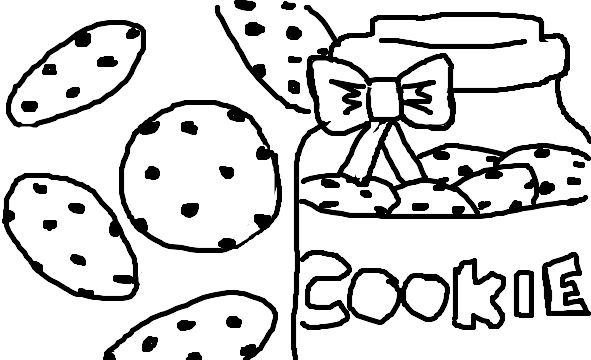 591x360 Cookie Swirl C Coloring Pages Free