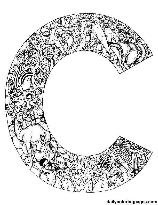 612x792 Intricate Alphabet Coloring Pages,intricate Coloring Pages