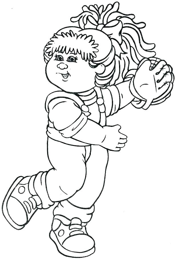 613x912 Cabbage Patch Kids Coloring Pages New Cabbage Patch Kids Coloring