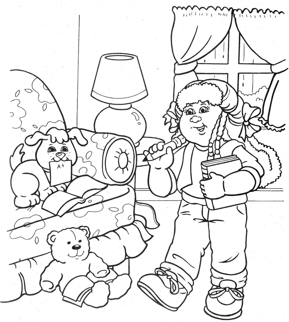 919x1024 Cabbage Patch Kids Coloring Pages Cabbage Patch Kids Coloring