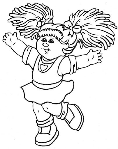 405x512 Cabbage Patch Kids Coloring Pages Cabbage Patch
