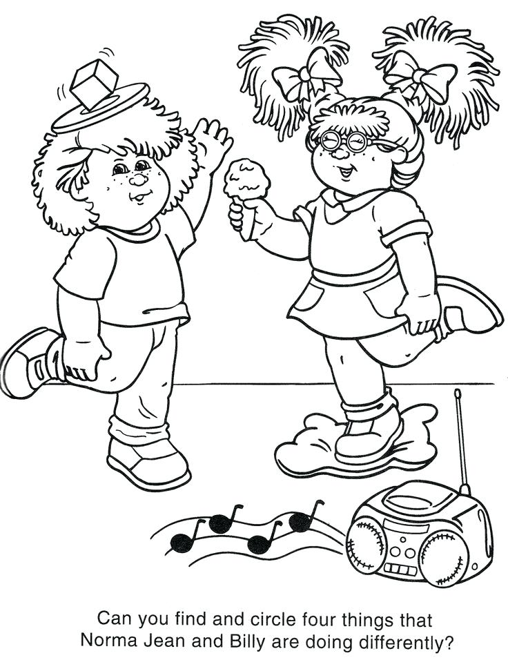 736x956 Tokidoki Coloring Pages Cabbage Patch Kids Are Some Of The Most