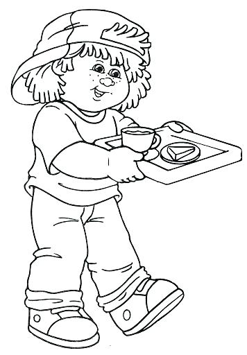356x512 Cabbage Patch Coloring Pages