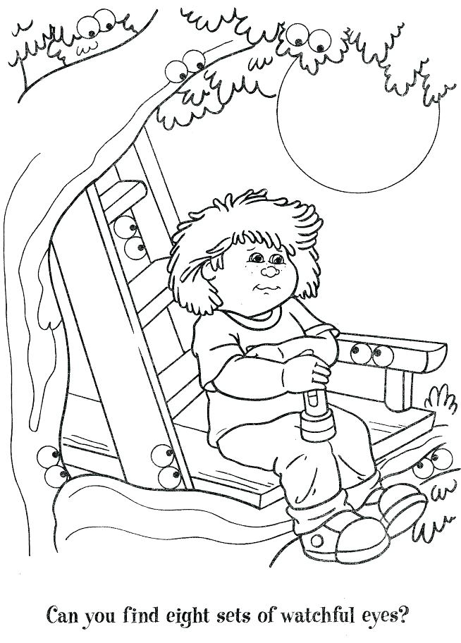 654x912 Cabbage Patch Kids Coloring Pages