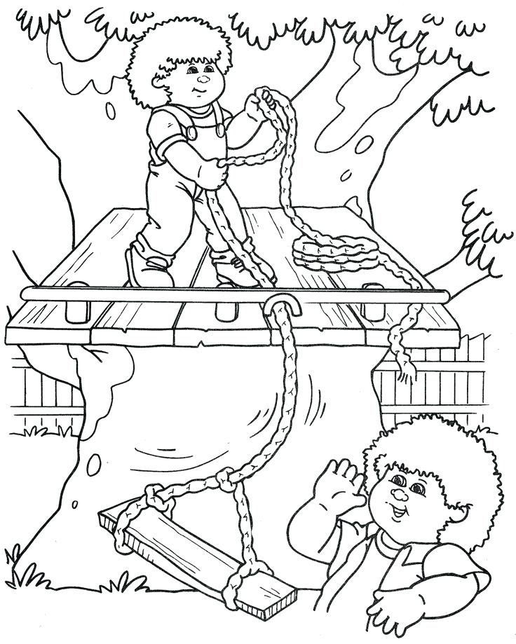 736x919 Cabbage Patch Coloring Pages Cabbage Patch Coloring Images Cabbage