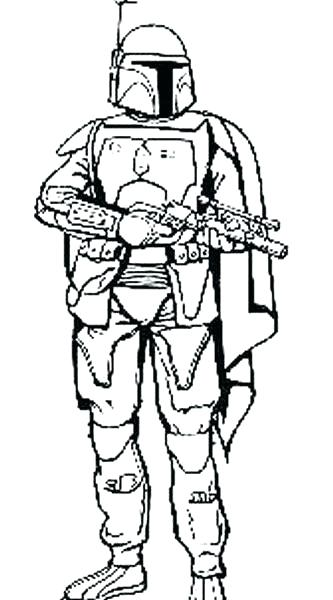 333x600 Boba Fett Coloring Pages Coloring Pages Boba Fett Coloring Pages