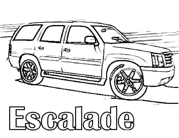 760x587 Cadillac Coloring Pages Take Your Child To Work Day