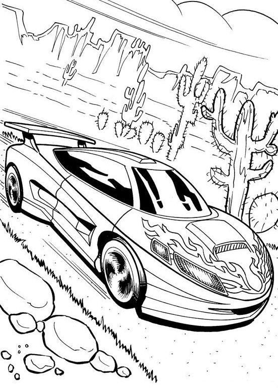 Cadillac Coloring Pages At Getdrawings Com
