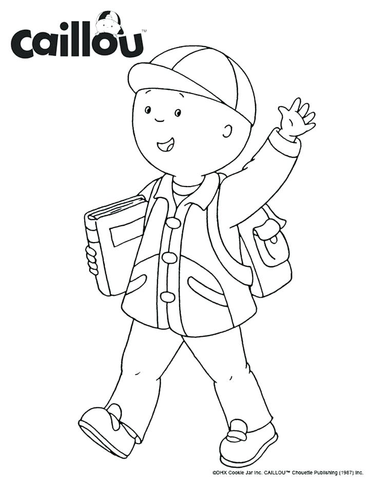 719x930 Caillou Coloring Pages Coloring Page Of Clementine Coloring Pages