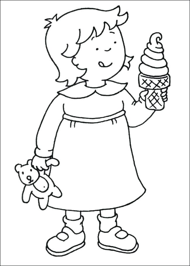 650x910 Caillou Coloring Pages Coloring Pages Online Picture Free