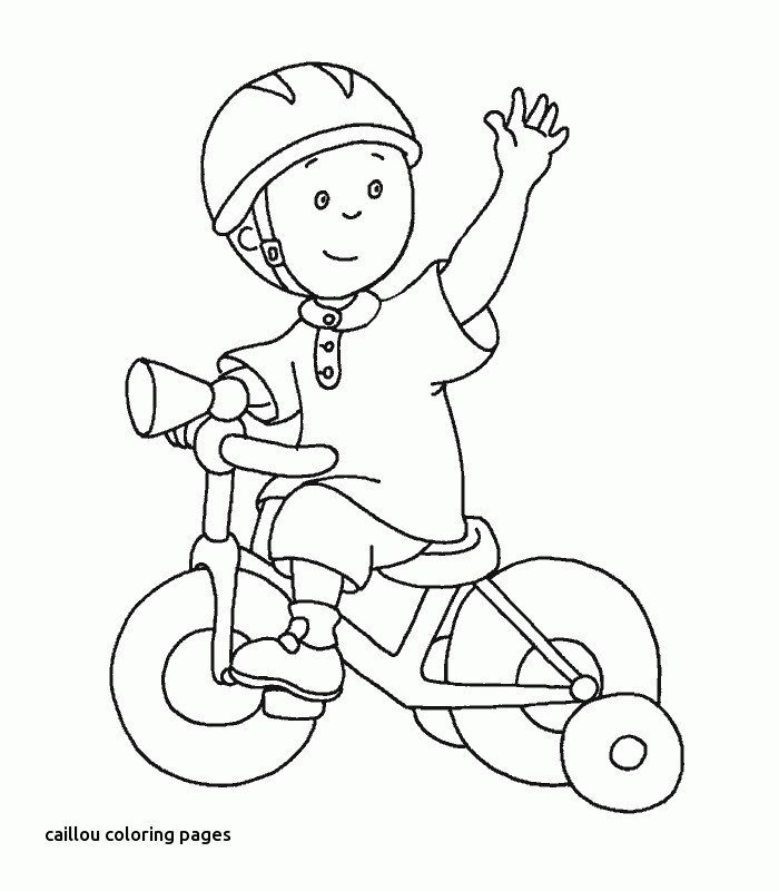 700x800 Caillou Pictures To Color Beautiful Best Caillou