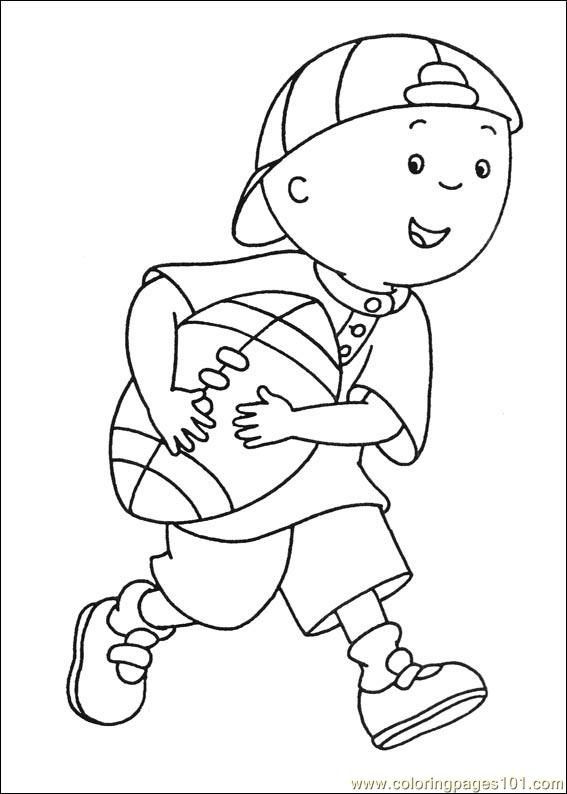 567x794 Caillou Coloring Pages Coloring Page