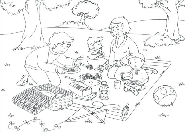 650x464 Caillou Coloring Pages Free Printable Coloring Pages Caillou