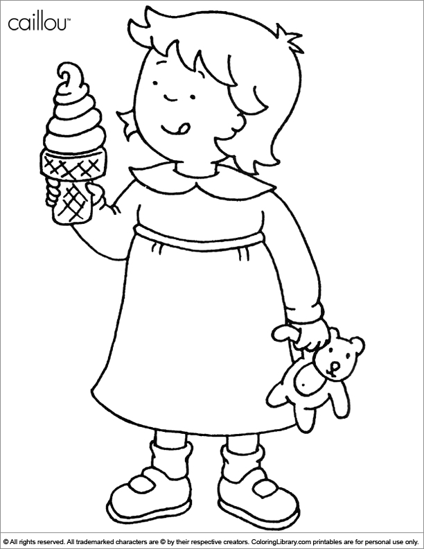 612x792 Caillou Coloring Pages Caillou Coloring Pages Coloring Pages
