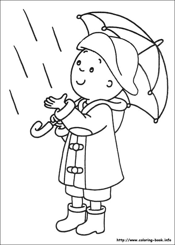 567x794 Caillou Coloring Picture My Coloring Book Caillou