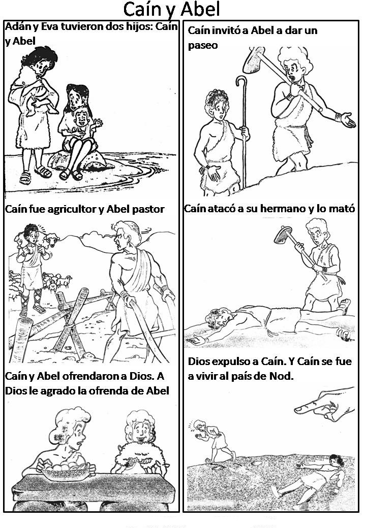 Cain And Abel Coloring Page at GetDrawings.com | Free for personal ...