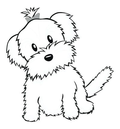 400x430 Yorkie Poo Coloring Pages Coloring Page Click To See Printable