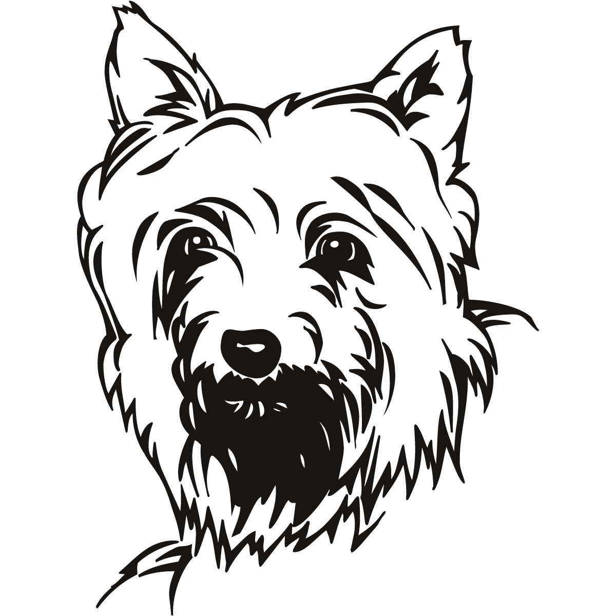 1200x1200 Yorkshire Terrier Coloring Page Free Printable Pages Incredible