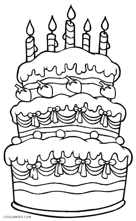 469x762 Coloring Pages Cake Cake Coloring Pageswesome Coloring Page