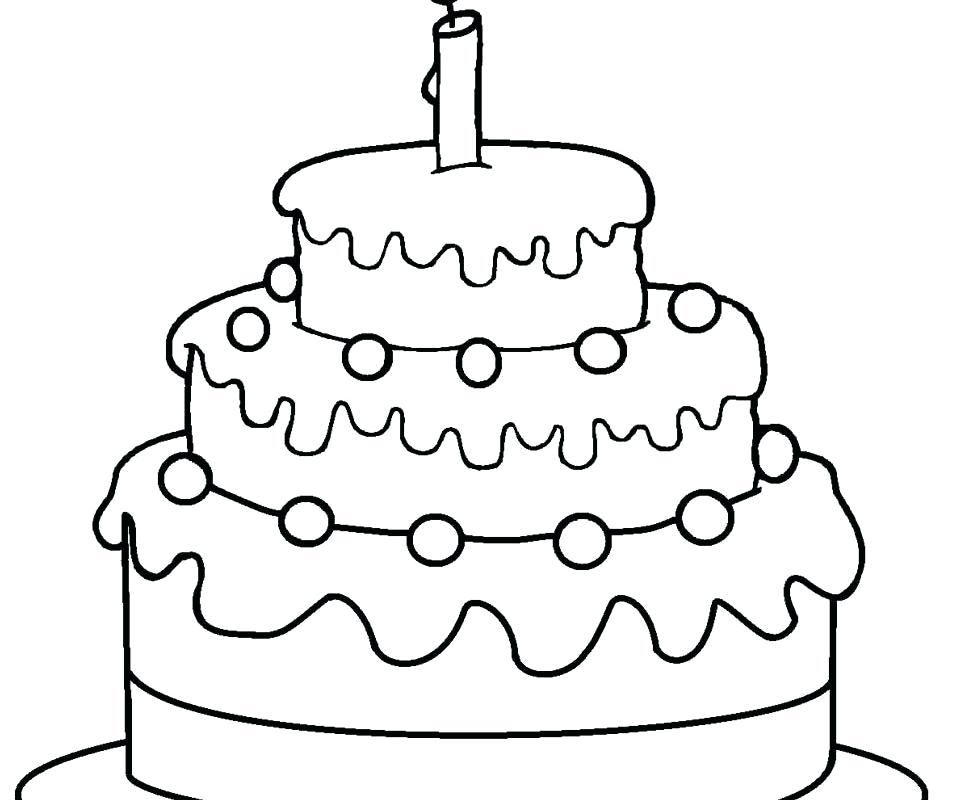 969x800 Get This Birthday Cake Coloring Pages Free Printable For Kids