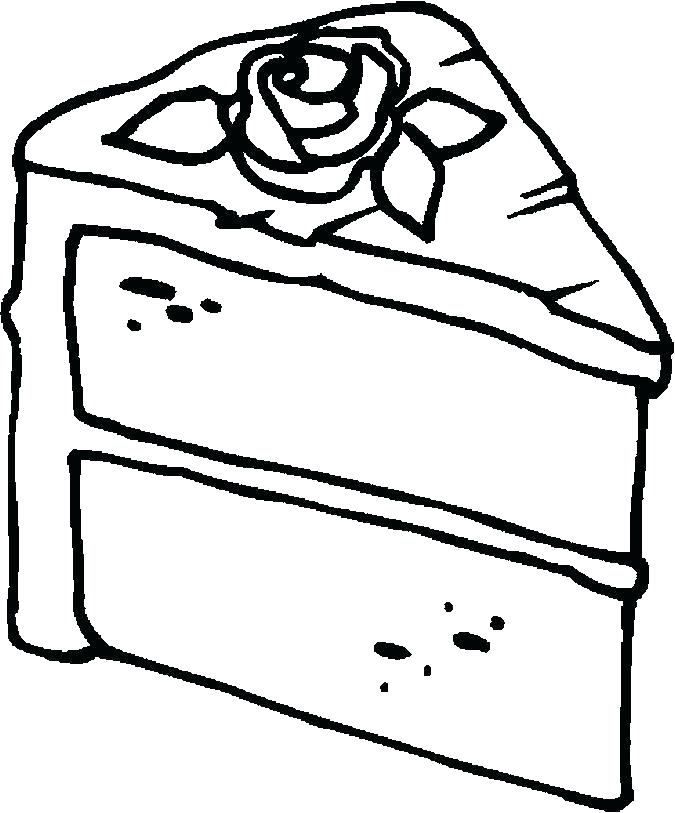 675x813 Coloring Page Birthday Cake Birthday Coloring Pages Coloring Pages
