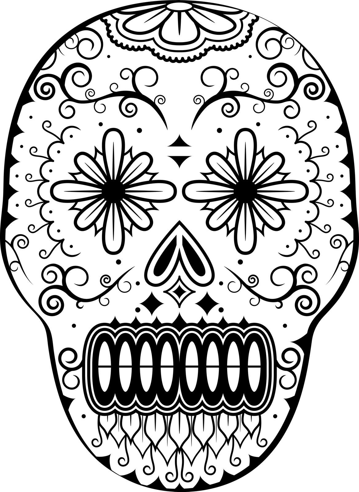 1168x1600 Dia De Los Muertos Coloring Pages Wednesday, November